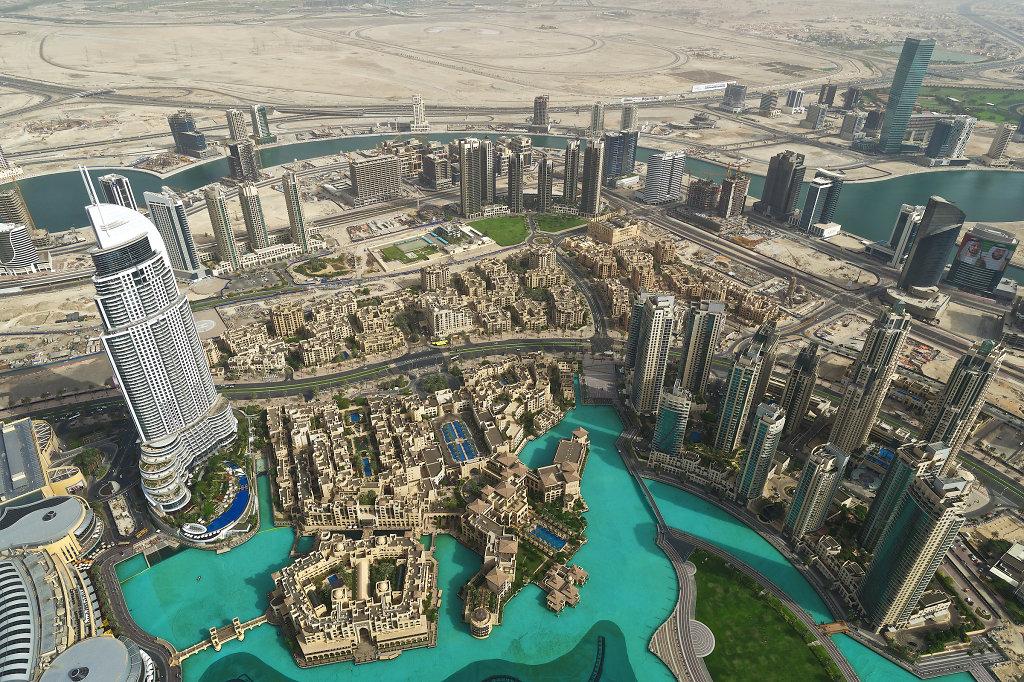 Burj Khalifa Lake & Downtown Dubai