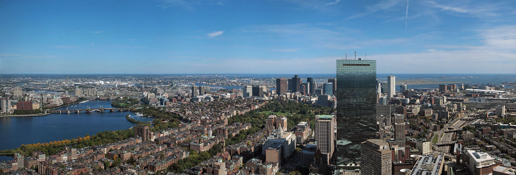 Panorama of Boston