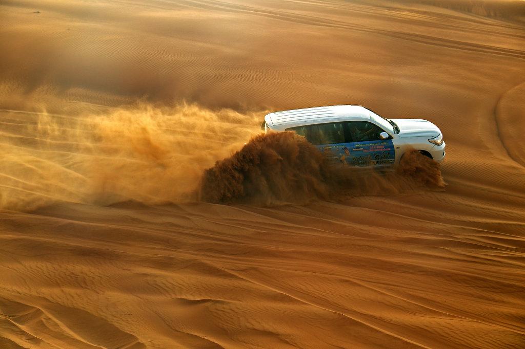 4x4 causing sand vortex
